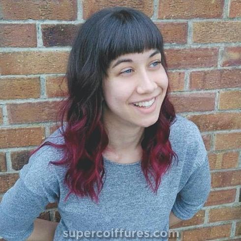 Les coiffures ombrées les plus inattendues