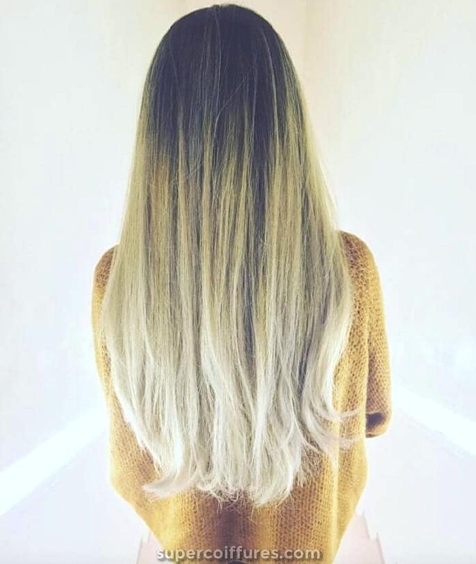 50 preuves que tout le monde peut retirer la coiffure blonde ombrée