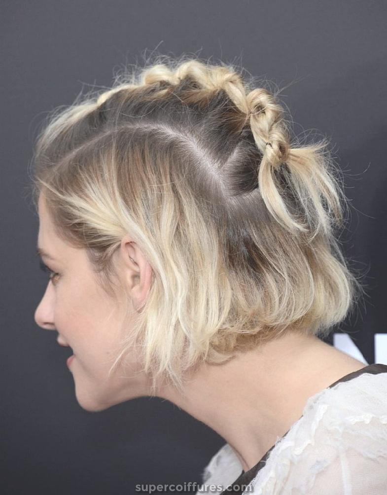 30 Updos pour cheveux courts pour vous rendre irrésistible