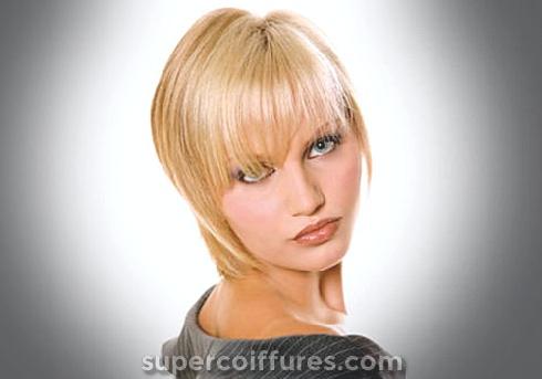 25 merveilleuses et magnifiques coupes de cheveux droites courtes