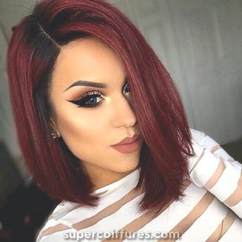 50 Idées De Couleur De Cheveux Rouge épicé Supercoiffurescom