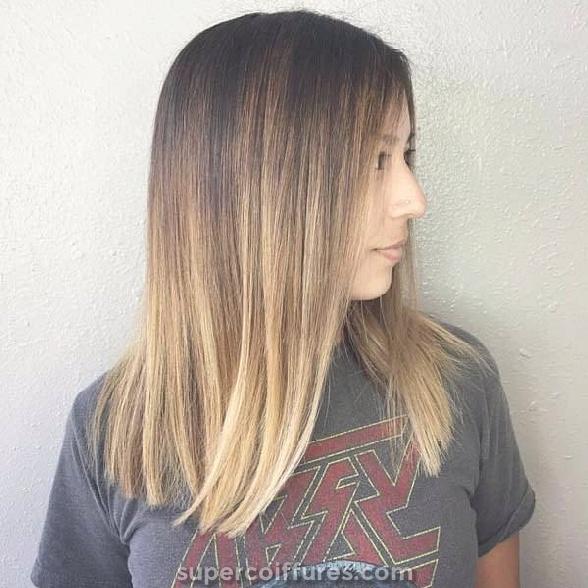 130 beaux cheveux brun clair pour cet été » Supercoiffures.com