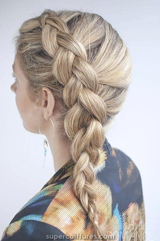 50 idées de coiffures tressées hollandaises pour vous garder au frais