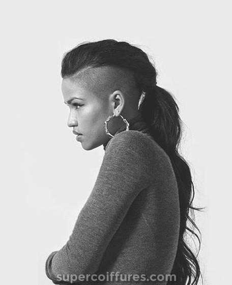 30 coiffures rasées pour les femmes
