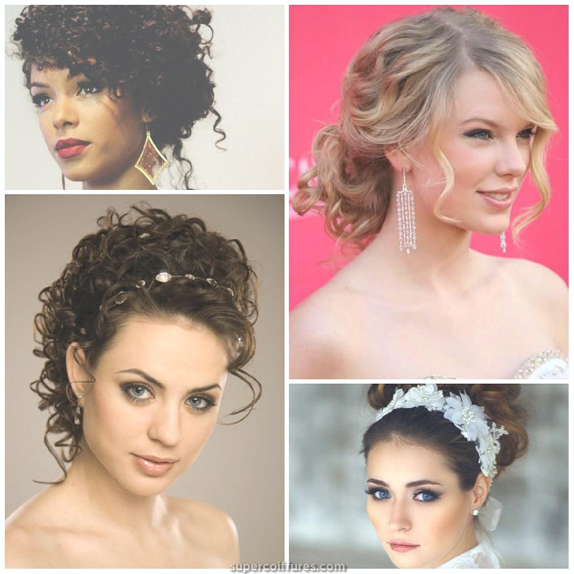 25 coiffures Updo simples et superbes pour les cheveux bouclés