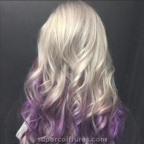 50 idées inverses de cheveux parfait