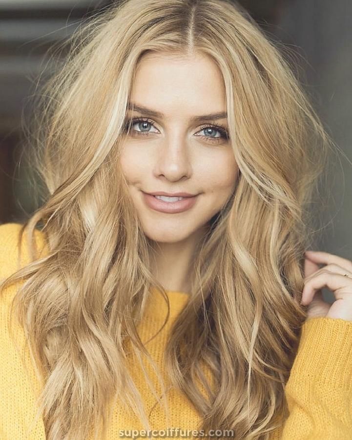 20 nuances les plus chaudes de cheveux blonds pour les femmes élégantes