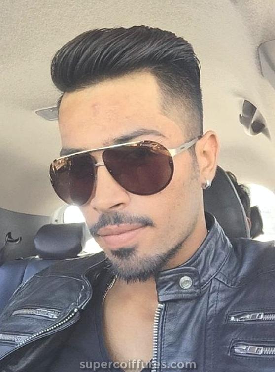 20 coiffures Hardik Pandya - Look élégant et audacieux