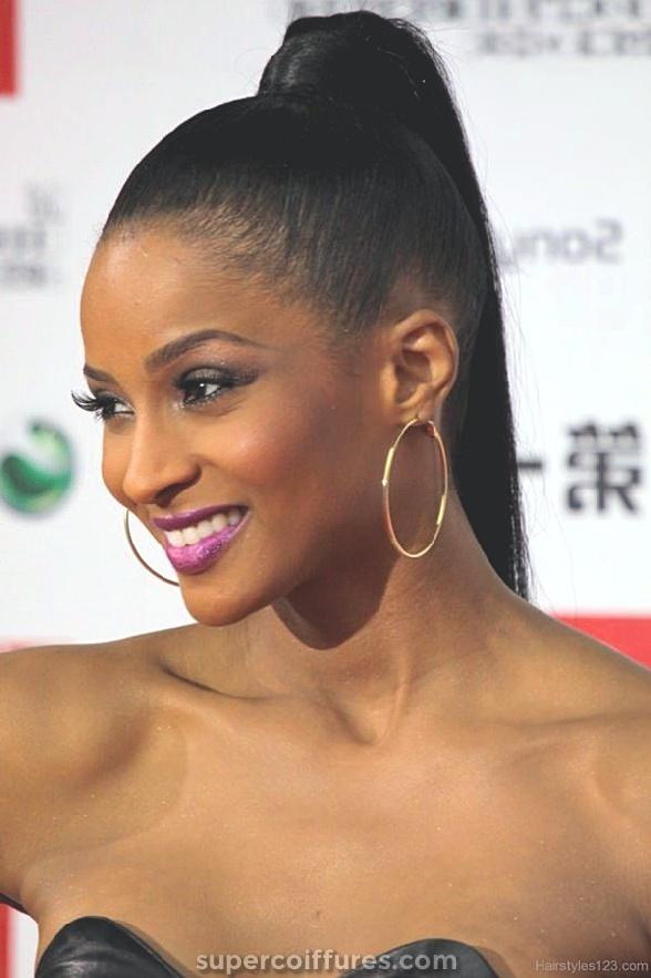 32 coiffures longues exquis pour les femmes noires