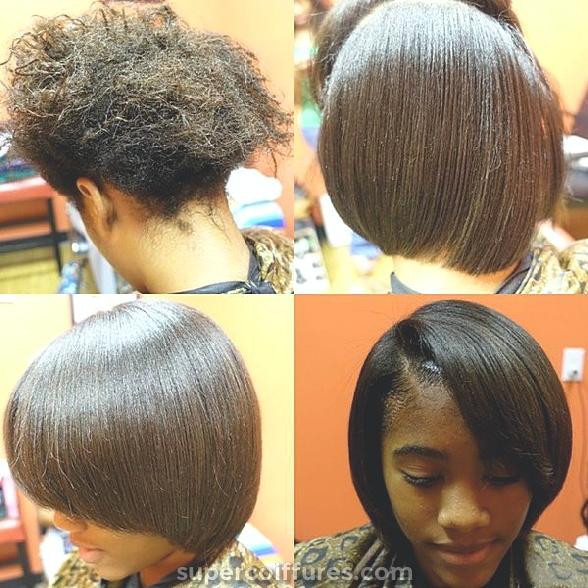 Coiffures naturelles courtes pour les femmes noires