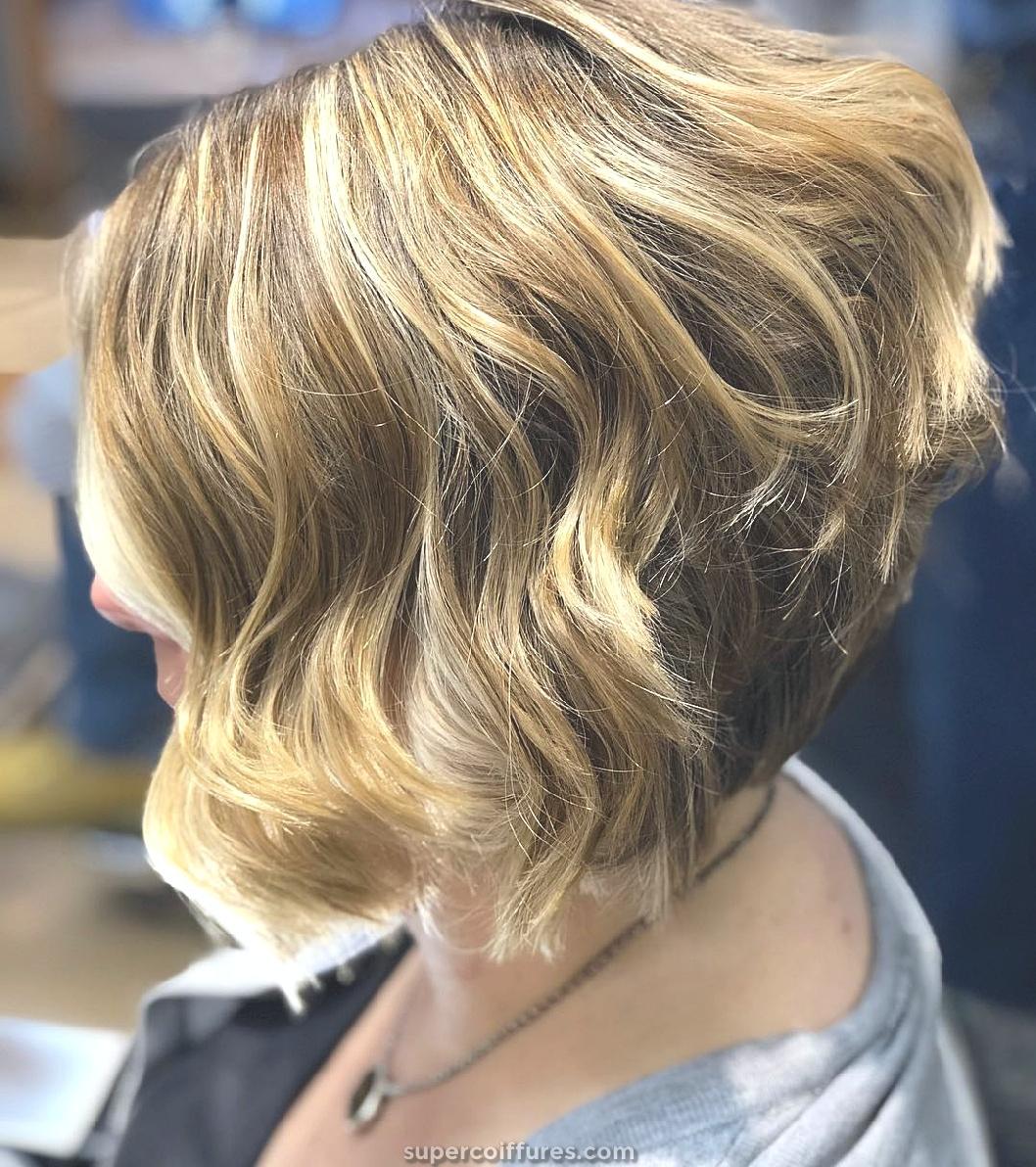 20 coupes de cheveux super cool et mignons empilés pour les femmes