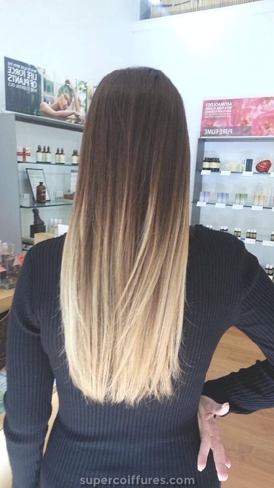 16 coiffures ombrées pour cheveux longs - look impressionnant et incroyable