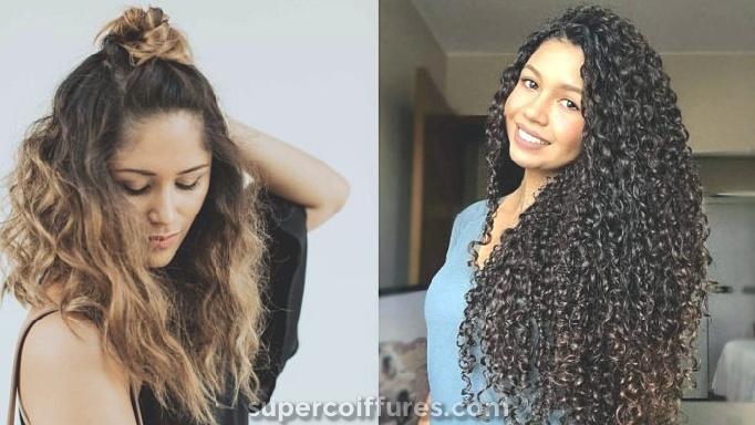 20 coiffures longues et frisées pour enrichir votre look