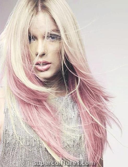 30 idées de cheveux Ombre Rose