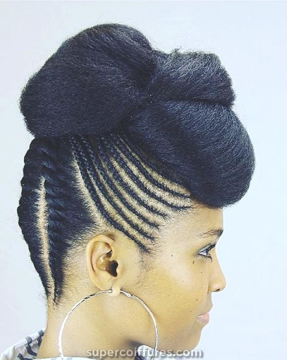 68 inspirantes coiffures tresse noire pour les femmes noires » Supercoiffures.com