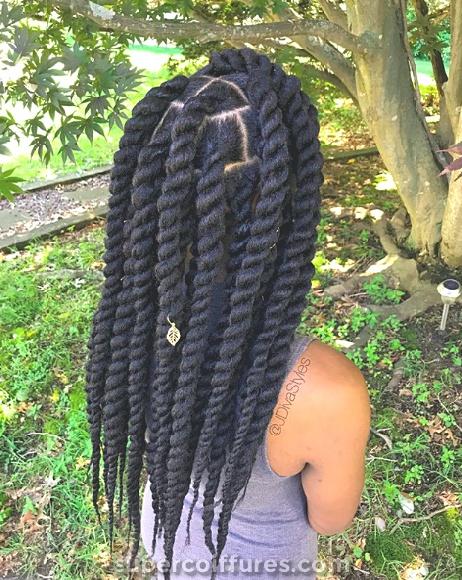 50 coiffures naturelles pour cheveux mi-longs