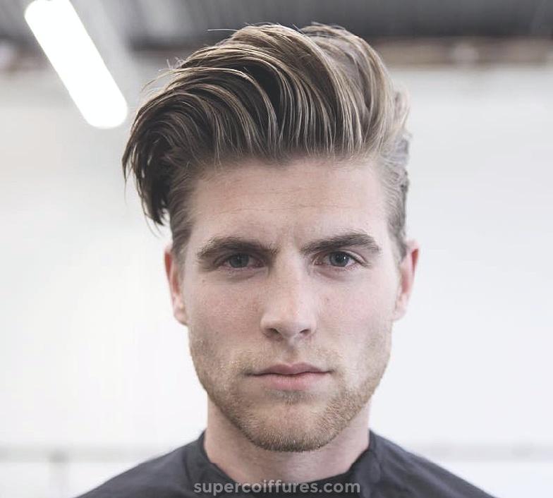 16 Coiffure pour cheveux épais pour hommes