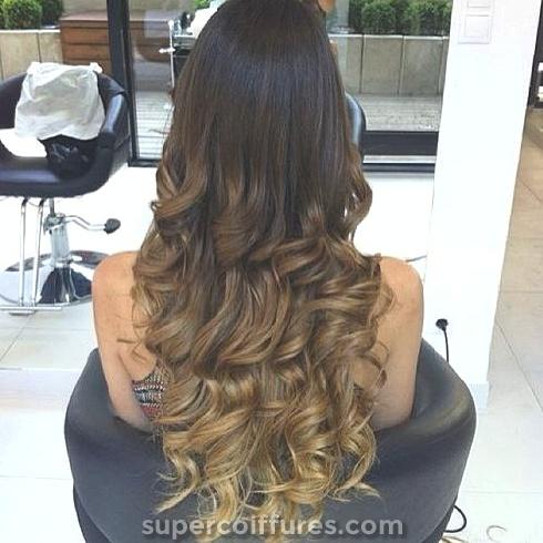 Les plus belles coiffures Ombre pour cheveux longs