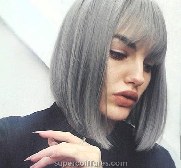Des coiffures avec des franges légères et vaporeuses