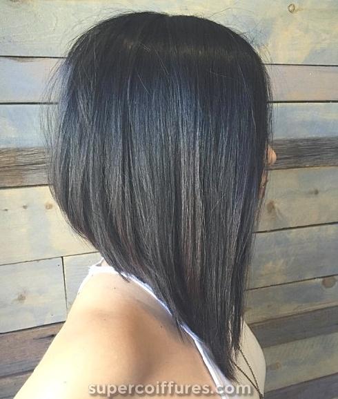 25 coupes de cheveux long les plus chaudes et les plus  Bob
