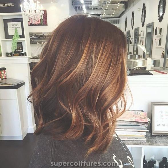 Sweep Light Brown Sweep para cabelo escuro