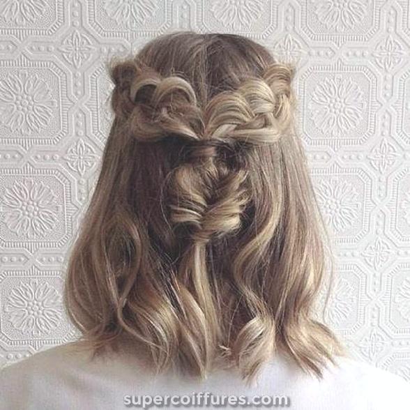 79 tresses de badass pour les cheveux courts dans le style hollandais
