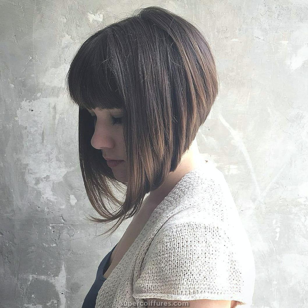 25 plus belles coupes de cheveux avec frange Bob