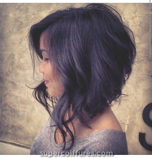 10 coupes de cheveux de longueur moyenne pour les cheveux épais